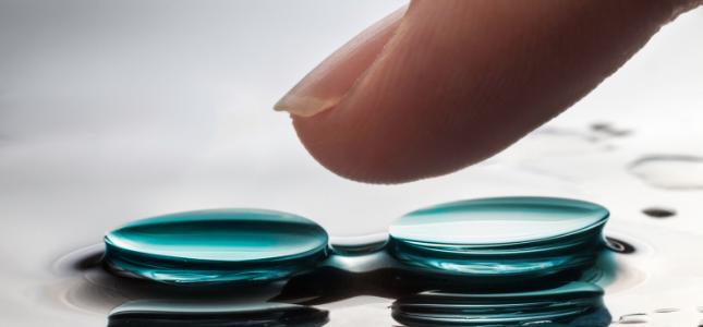 zwei-kontaktlinsen