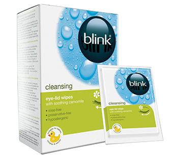 Blink Lid-Clean Reinigungstücher