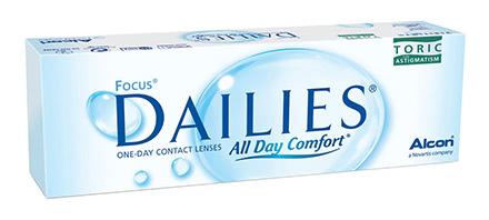 Focus Dailies Toric (30 Linsen)