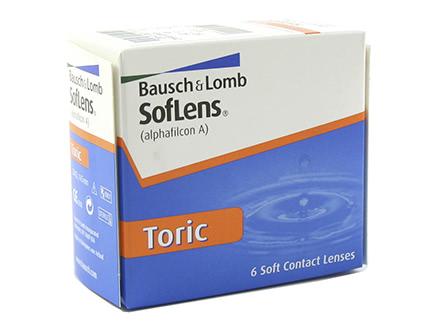Soflens for Astigmatism (6 Linsen)