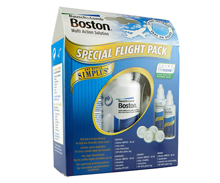 Boston Simplus Flight Pack (2*60ml)