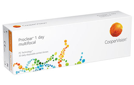 Proclear 1 Day Multifocal (30 Linsen)