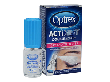 Optrex ActiMist Double Action Dry and Tired Eyes Augenspray