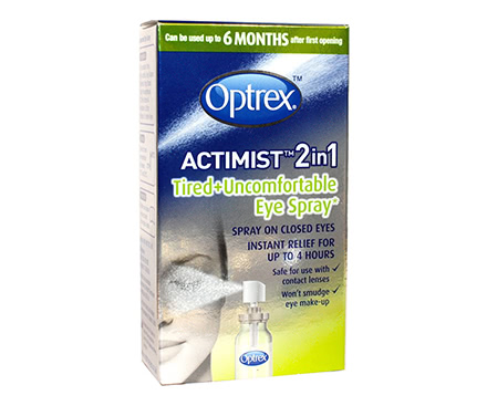 Optrex ActiMist 2-in-1 Tired Eye Augenspray (10ml)