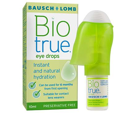 Biotrue Augentropfen Flasche