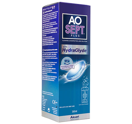 AOSept Plus mit HydraGlyde (360ml)