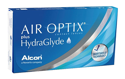 Air Optix plus HydraGlyde (3 Linsen)