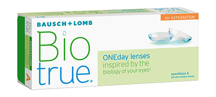 Biotrue ONEday for Astigmatism (30 Linsen)
